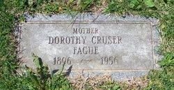 Dorothy Slocum <i>Cruser</i> Fague