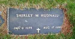 Shirley May <i>Hall</i> Hudnall