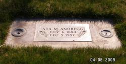 Ada M. Andregg