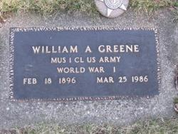 William A. Greene