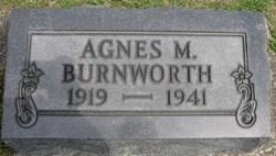 Agnes M <i>Stump</i> Burnworth