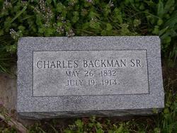 Charles Albert Backman, Sr