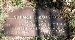 Clarence E Botsford