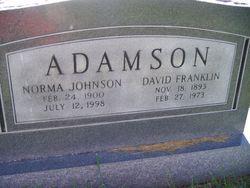 Norma <i>Johnson</i> Adamson