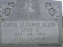 Carol Suzanne Suzie Q. Allen