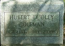 Hubert Dudley Coleman