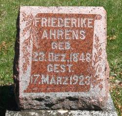 Friederika Ahrens