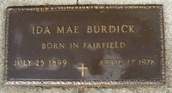 Ida May <i>Hammond</i> Burdick