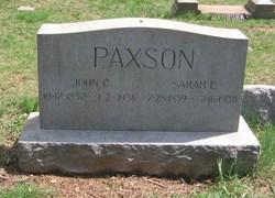 Sarah E. <i>White</i> Paxson