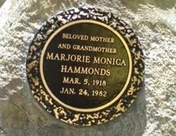 Marjorie Monica Hammonds