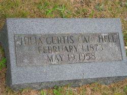 Julia Edna <i>Curtis</i> Caughell