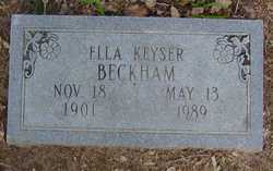 Ella <i>Keyser</i> Beckham