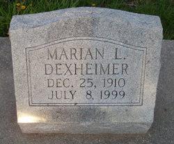 Marian Louise <i>Angle</i> Dexheimer