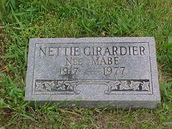 Nettie Frances <i>Mabe</i> Girardier