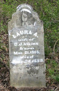 Laura A. <i>Williams</i> Atkins
