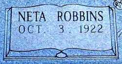 Neta Gertrude <i>Robbins</i> Brooks