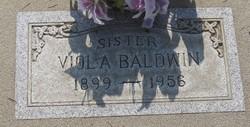 Viola <i>Ingram</i> Baldwin