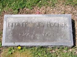 Frances Etta <i>Propst</i> Fischer