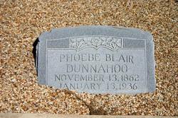 Phoebe Adeline Lina <i>Blair</i> Dunnahoo