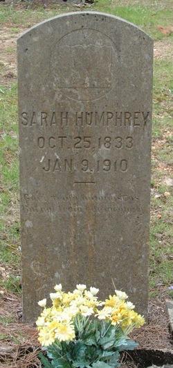 Sarah <i>Breshears</i> Humphrey