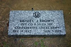 Pvt Daniel Jasper Brown