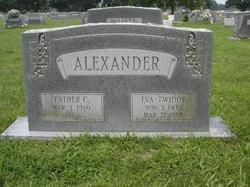 Eva <i>Twiddy</i> Alexander
