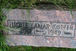 Lucille Lamar <i>Satterfield?</i> Cotter