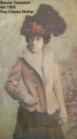 Betty Bessie <i>Danielsen</i> Clawes