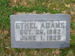 Ethel <i>Smithson</i> Adams