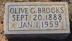 Olive G Brooks
