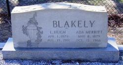 Ada <i>Merritt</i> Blakely