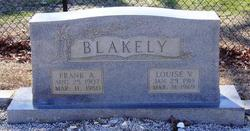 Frank A Blakely