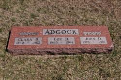 John D Adcock