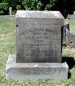 Abigal Beal <i>Knight</i> Whitney
