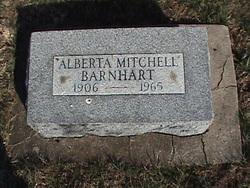Alberta <i>Mitchell</i> Barnhart