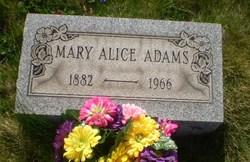 Mary Alice <i>Buckley</i> Adams
