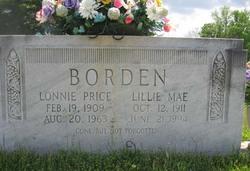 Lillie Mae <i>Muston</i> Borden