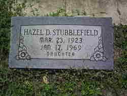 Hazel Dean <i>Ewing</i> Stubblefield