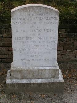 Charlotte Maria Alston