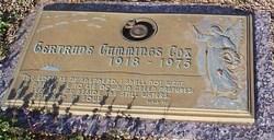 Gertrude <i>Cummings</i> Cox