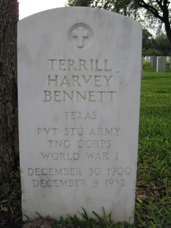 Terrill Harvey Bennett