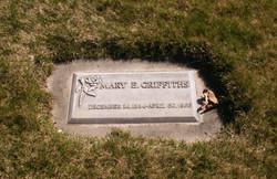 Mary Elvira <i>Swanner</i> Griffiths