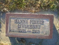 Hannah <i>Fisher</i> Livermont