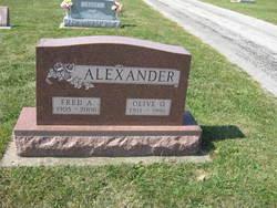 Ora Olive <i>Phillips</i> Alexander