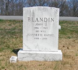 Jeanette Theresa <i>Raphel</i> Blandin