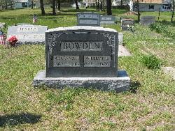 Roxanna A <i>Tarr</i> Bowden