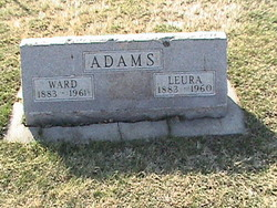 Leura Gertrude <i>Chase</i> Adams