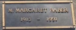 Mary Margaret <i>Holland</i> Baber