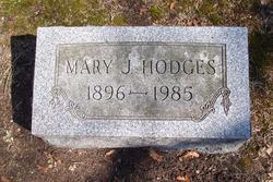 Mary Jane <i>Saturby</i> Hodges