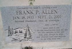 Frank P Allen